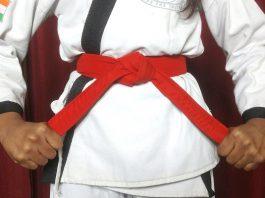 Red Belt Karate Meaning in Hindi | जानिए कराटे में लाल बेल्ट का मतलब।