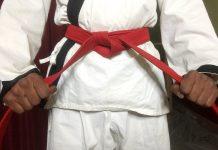 Karate Dark Red Belt Meaning in Hindi. जानिए कराटे में गहरी लाल बेल्ट का मतलब।